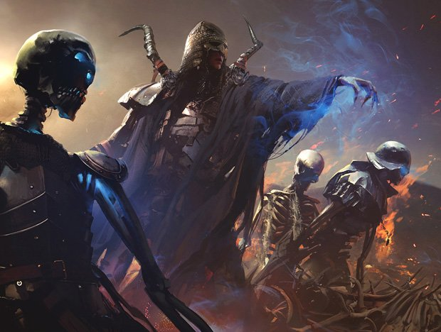 necromancer Speak with Dead undead necromancy evil in D&D