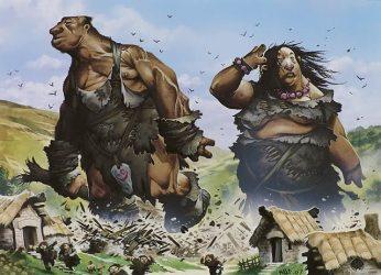 D&D encounters giants