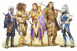 D&D Subraces for Elves: Winged, Wild, and Fierce