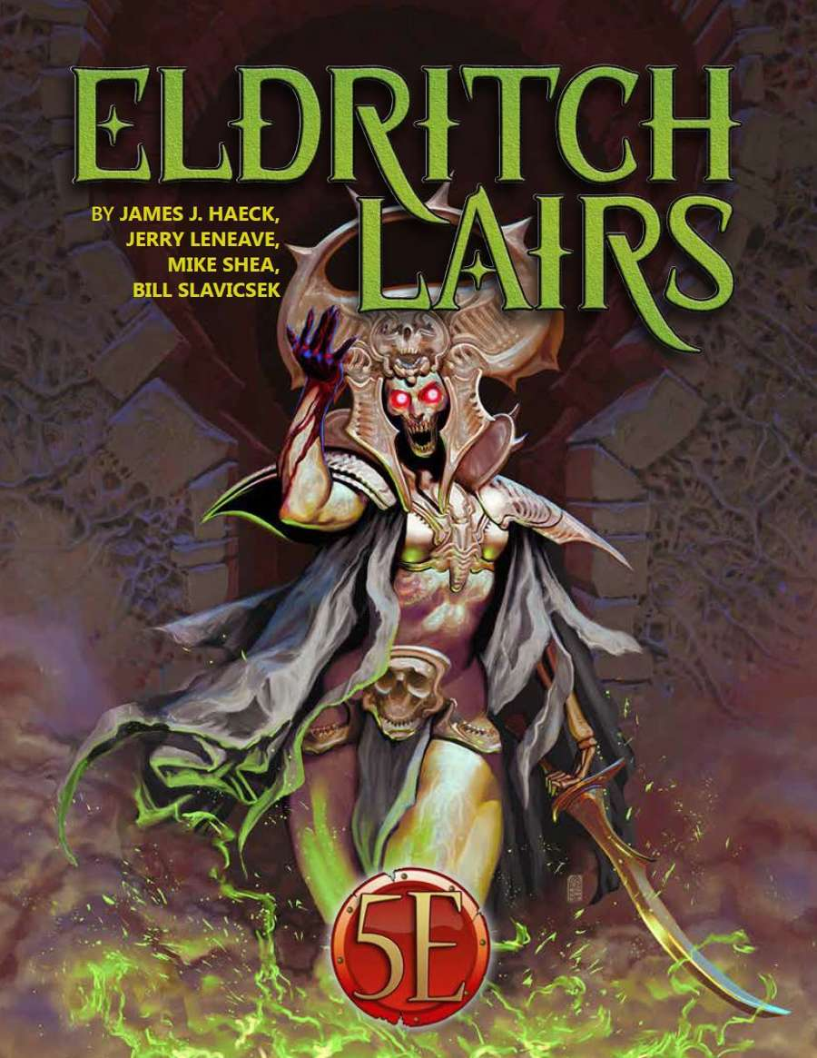Eldritch Lairs: Adventures for 5th Edition