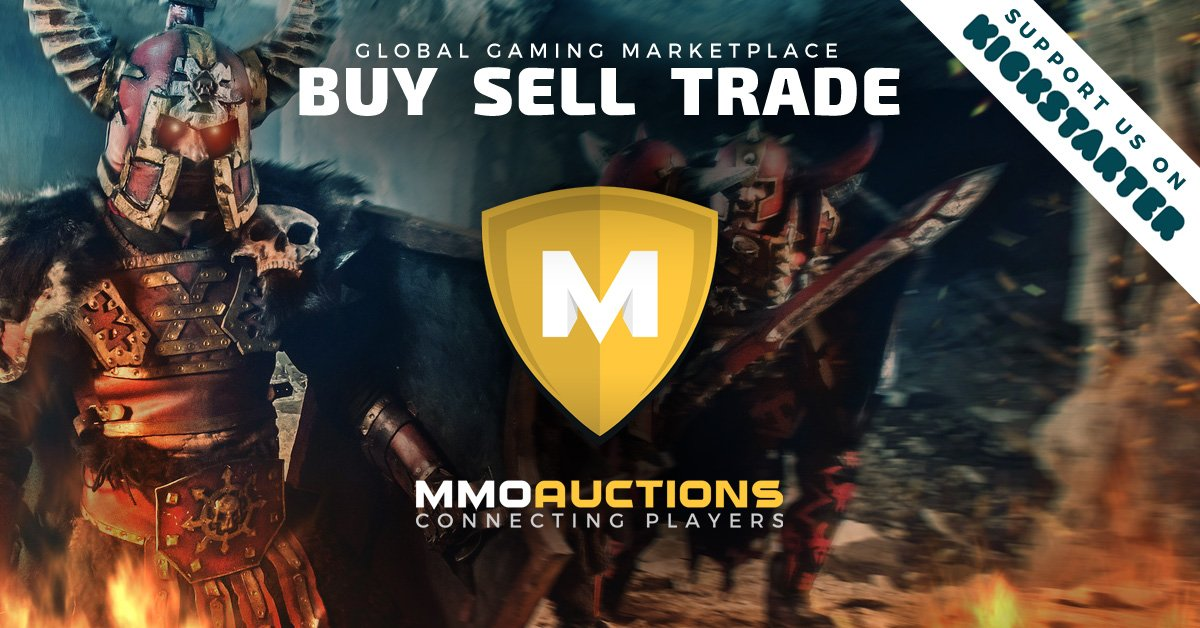 Explore the MMO Marketplace in Safety with MMOAuctions Kickstarter