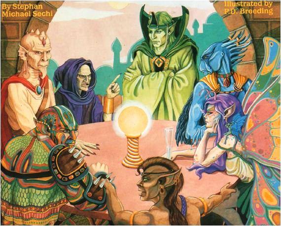 character class RPG worldbuilding Talislanta