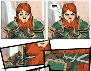 dwarves beards
