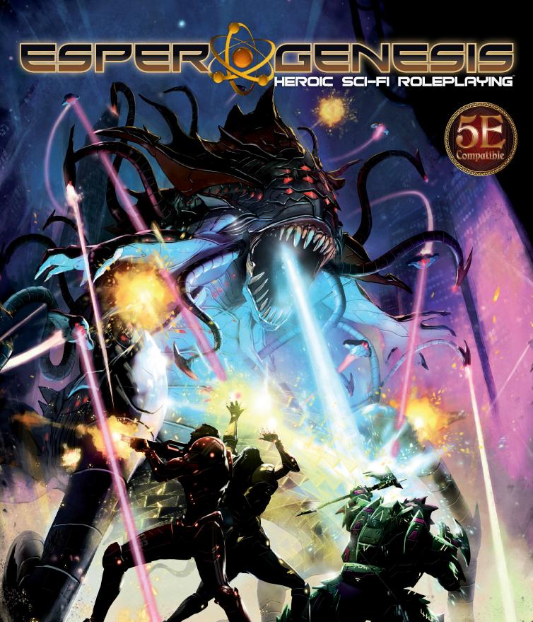 Esper Genesis 5E sci-fi RPG
