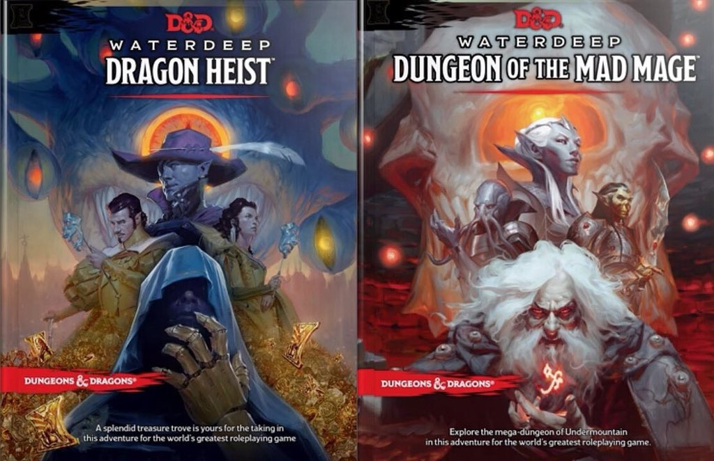 Waterdeep Dragon Heist Dungeon of the Mad Mage
