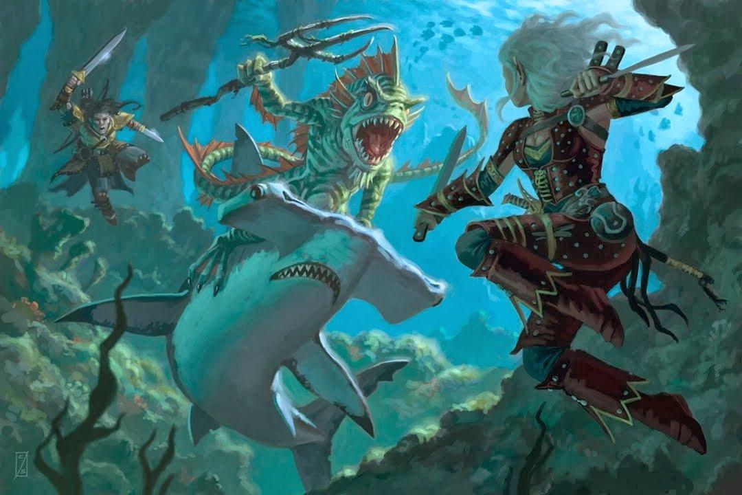 Aquatic Dungeons Dragons Adventure