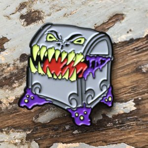 mimic enamel pin