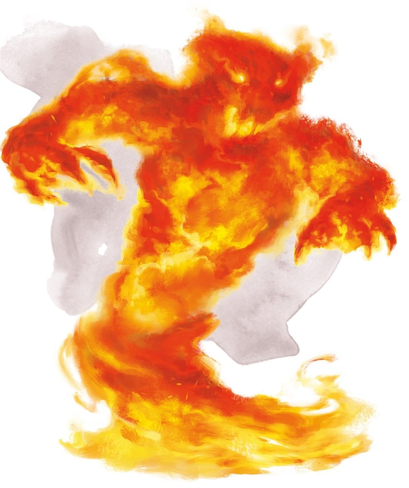 Don't Use 5E Elementals Use This D&D Monster Instead – Nerdarchy