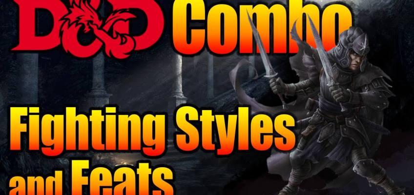 D&D Fighting Styles