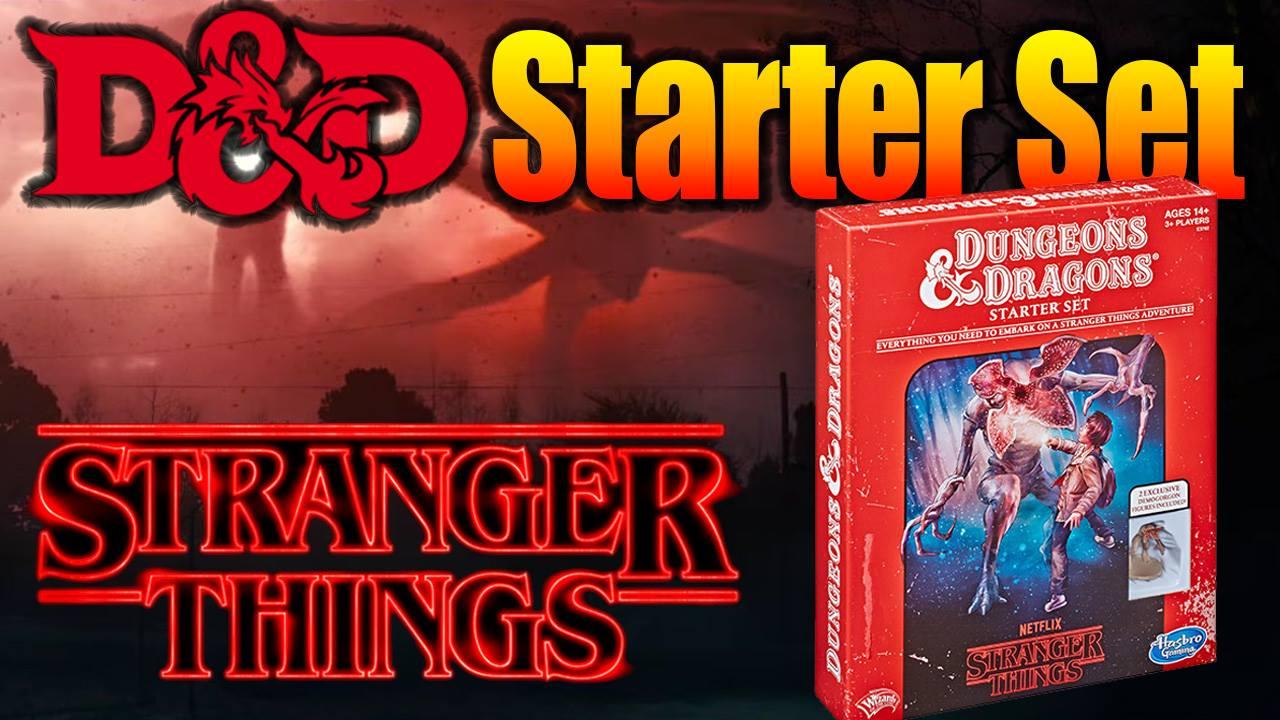 Stranger Things Dungeons and Dragons Starter Set for 5e D&D