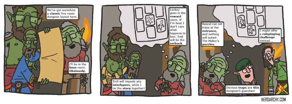 D&D monsters fantasy comics WALIAC