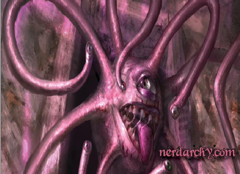 D&D aberrations tentacles