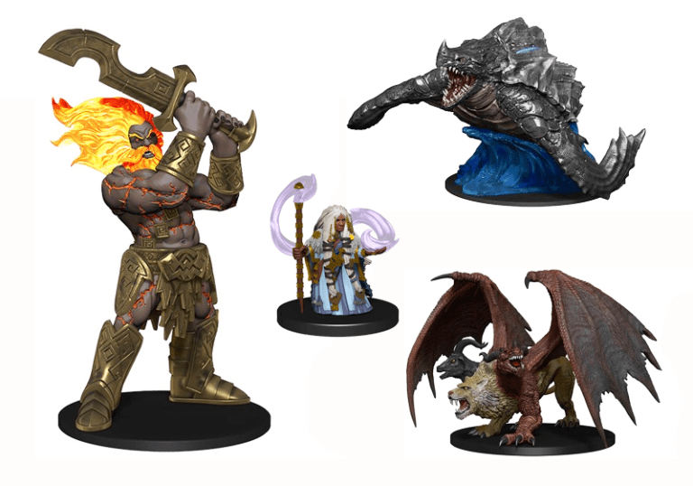 Pathfinder Battles Legendary Adventures D&D minis