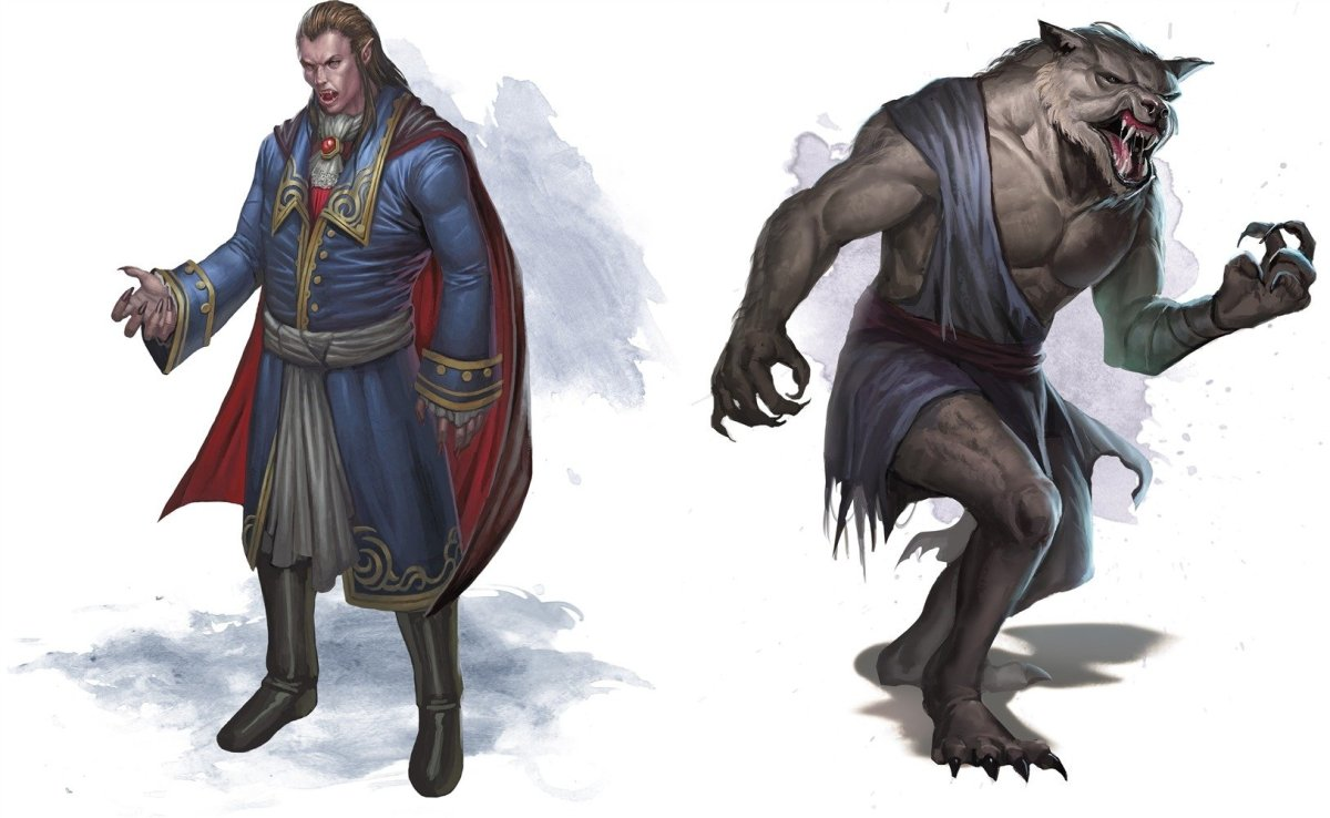 How to Play a Vampire or Werewolf Character in 5E D&D