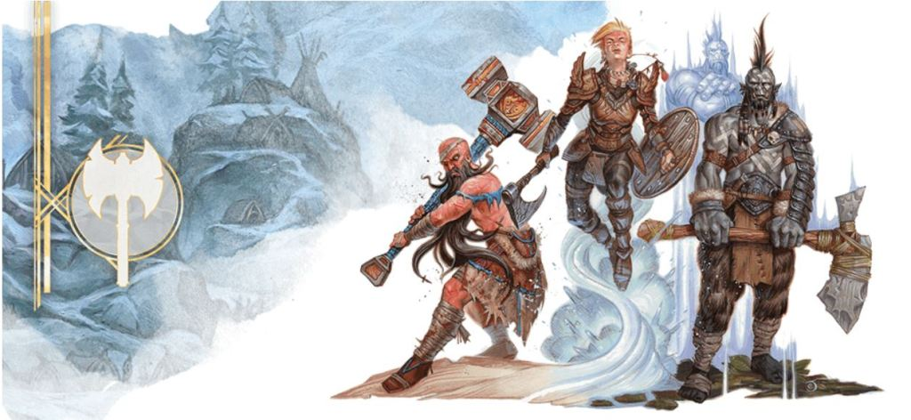 5E D&D all barbarian party composition
