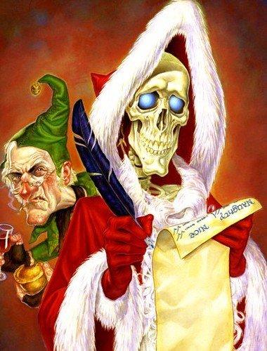 hogfather fantasy worlds holiday