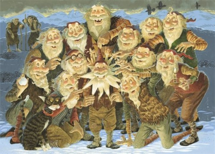 5E D&D holiday adventure folklore yule lads