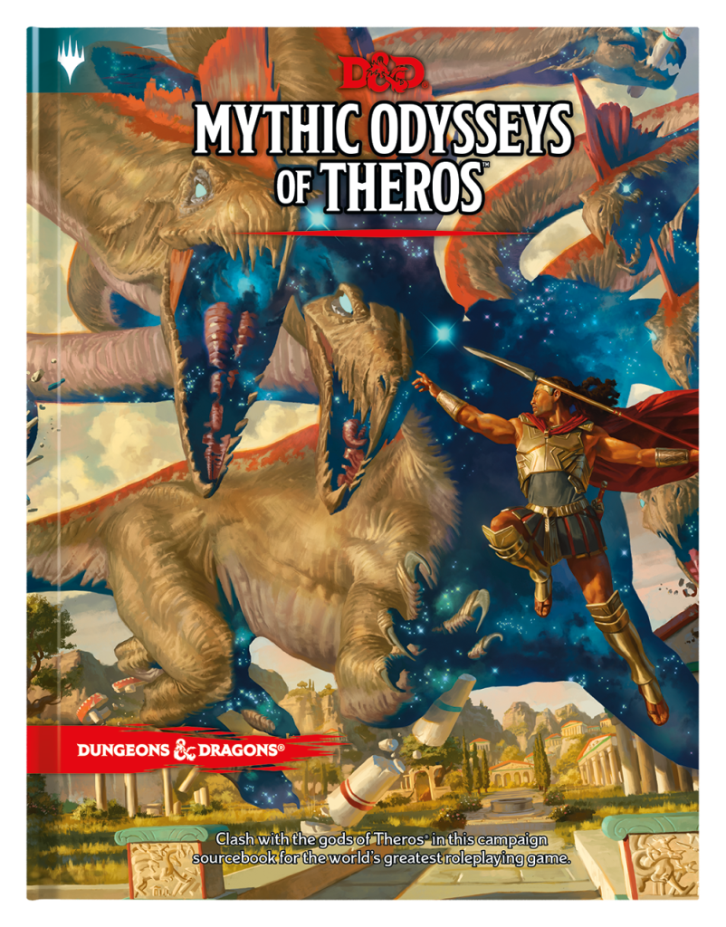 mythic odysseys of theros 5E D&D