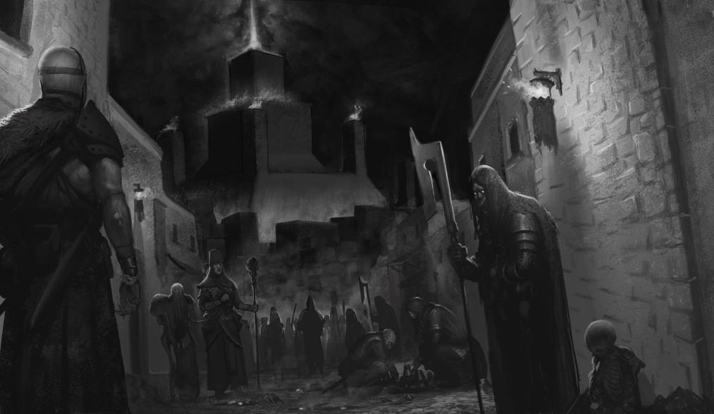 5E D&D necropolis undead