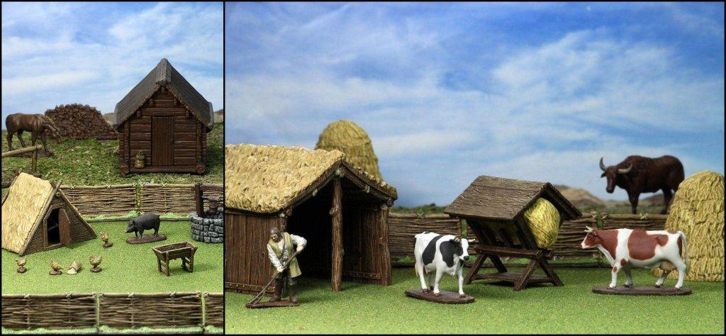 wizkids medieval farmer homestead