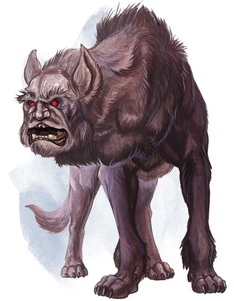5E D&D Witcher style monster folklore monster