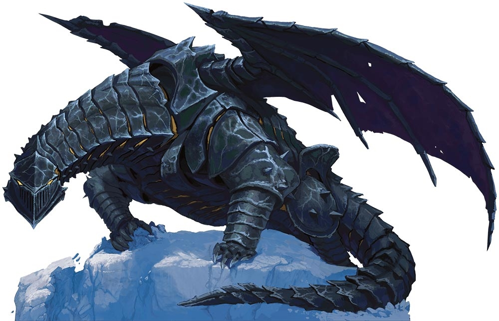 5E D&D Icewind Dale: Rime of the Frostmaiden chardalyn dragon