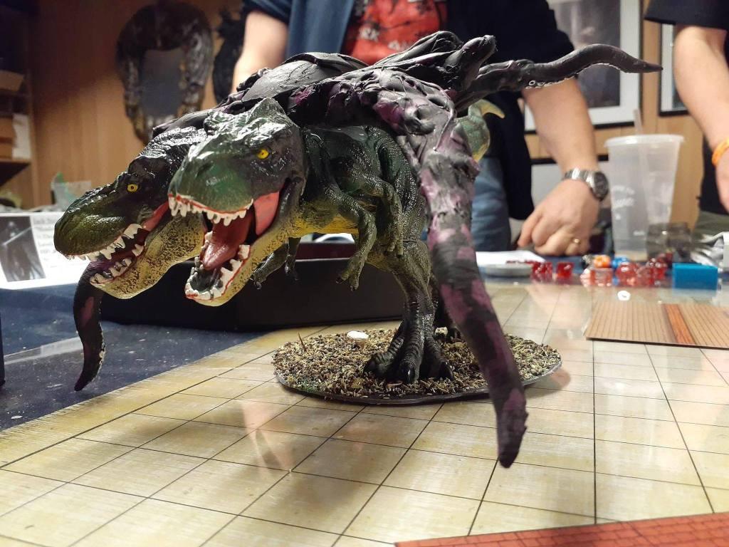 D&D mutant T-Rex