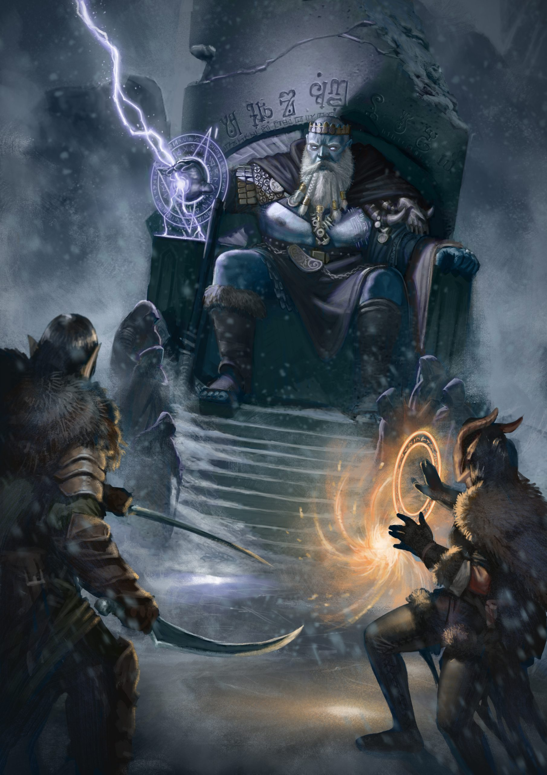 5E D&D frost king arctic hobgoblin
