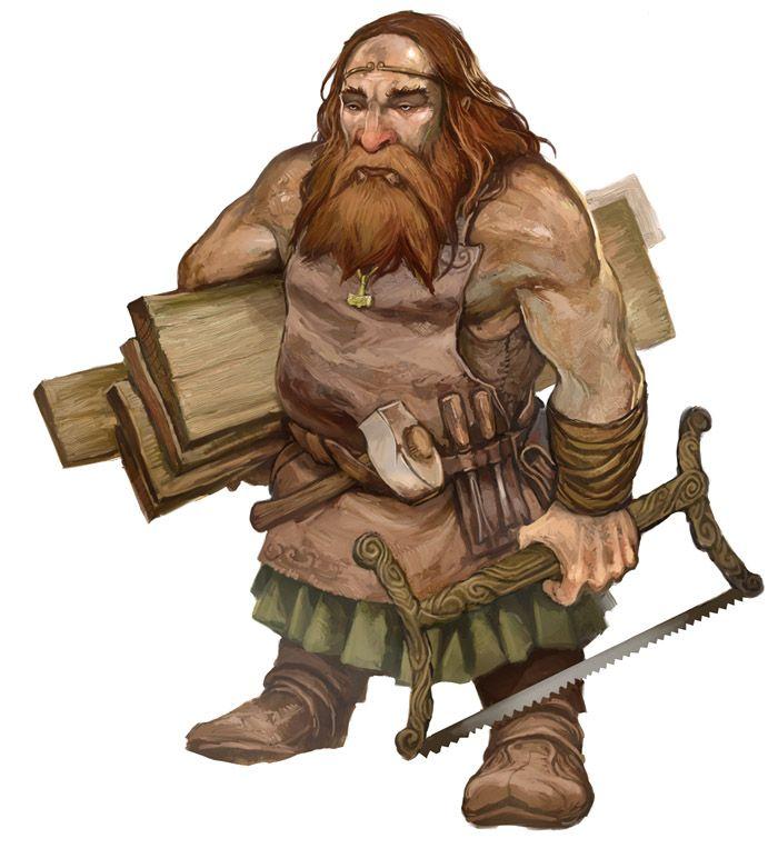 city dwarf carpenter 5E D&D City of Anvil