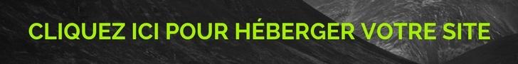 hebergement site web