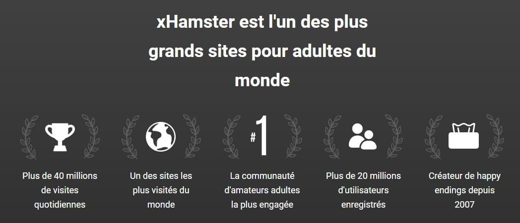 Xhamster nombre de visiteurs chiffre d'affaire
