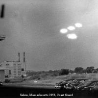 Classic UFO Pictures: 1952 Salem Massachusetts Coast Guard