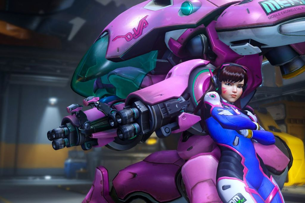 D.Va Overwatch Easiest Overwatch Hero