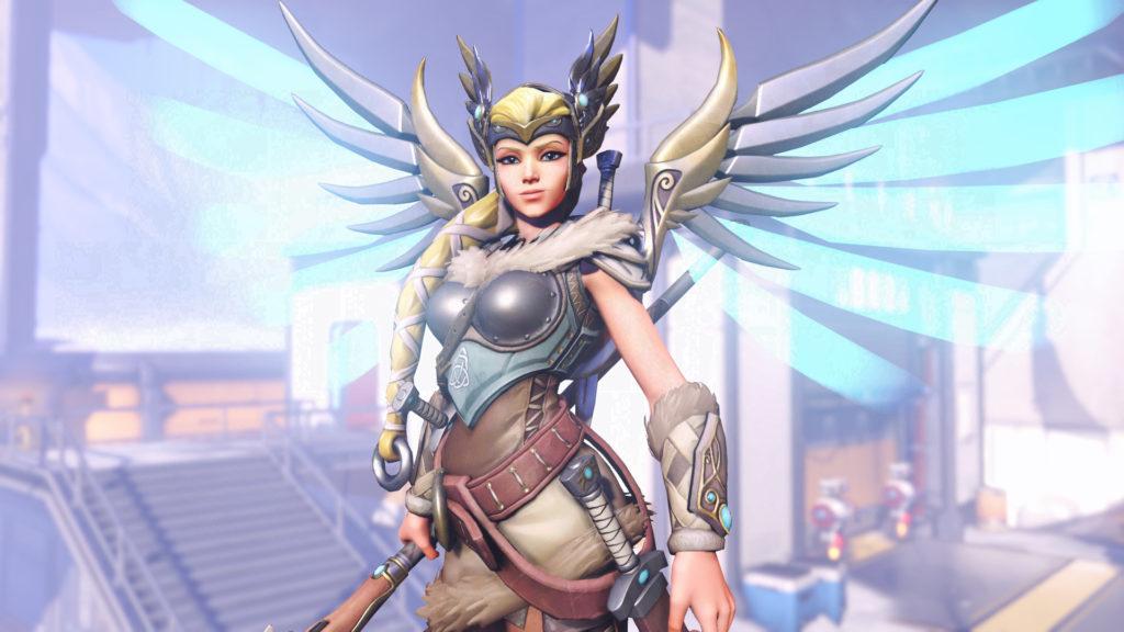 Mercy's Valkyrie Skin