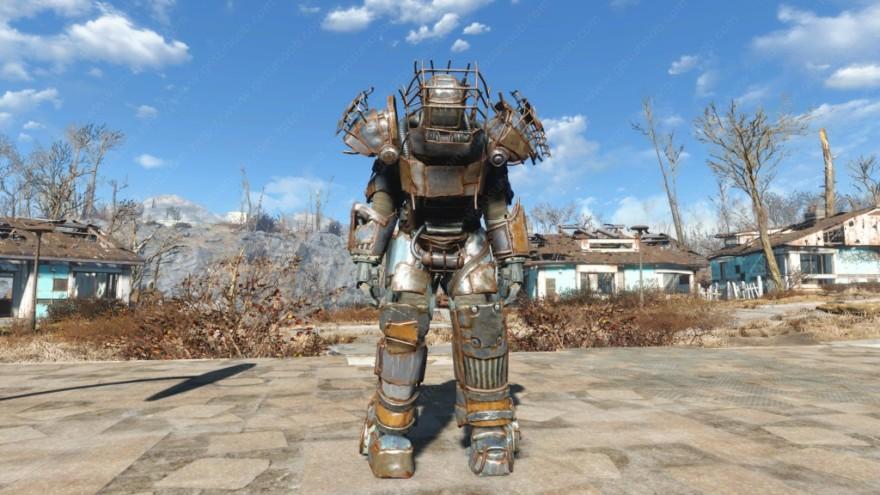 Fallout 4 Raider Power Armor