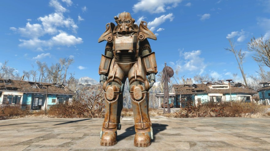 Fallout 4 T-45 Power Armor