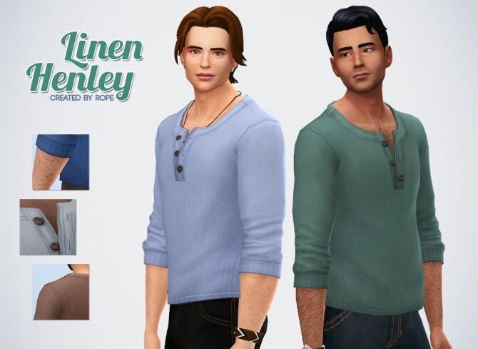 Linen Henley