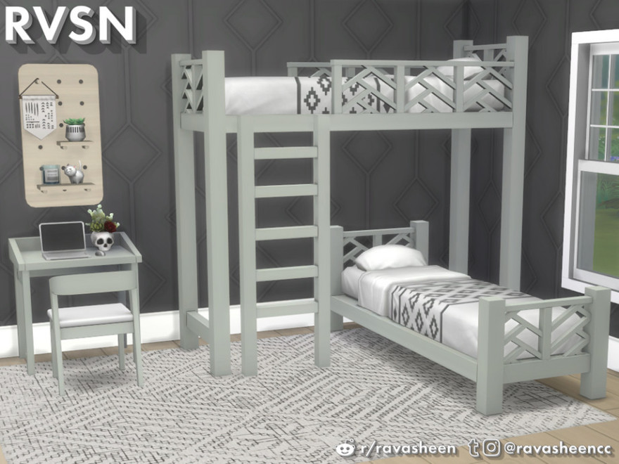 Sims 4 Bunk Beds Mods
