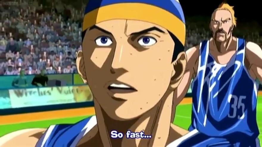 Buzzer Beater anime