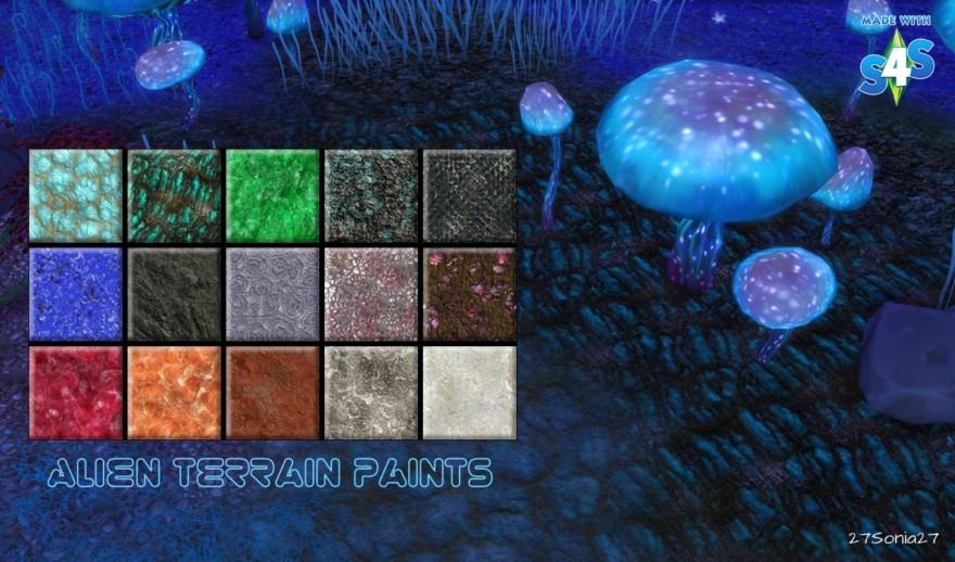 Alien Terrain Paints