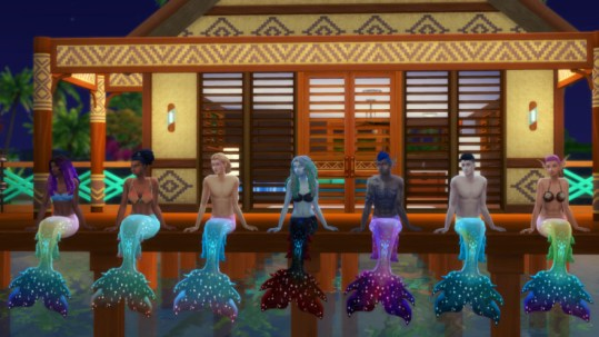 Mermaid Tails Recolors