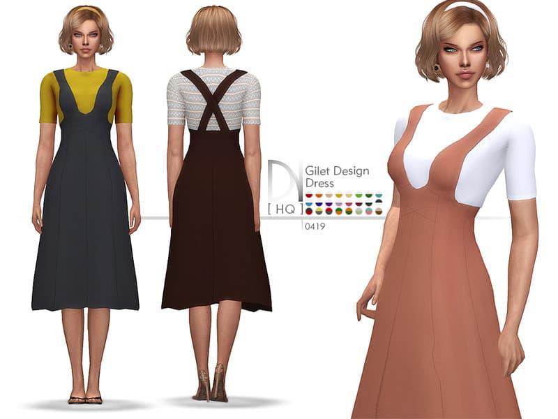 Gilet Design Dress