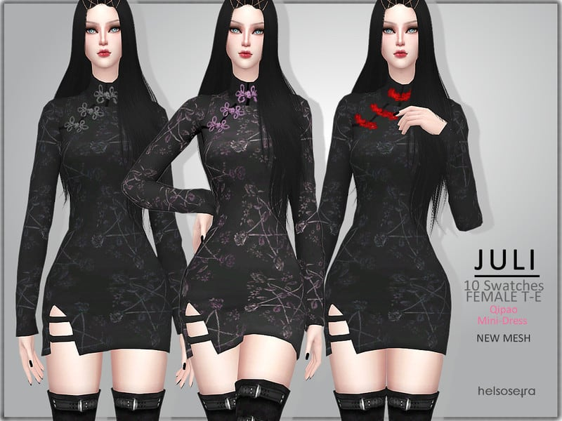 Goth Mini Dress