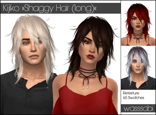 Kijiko's Shaggy Long Hair