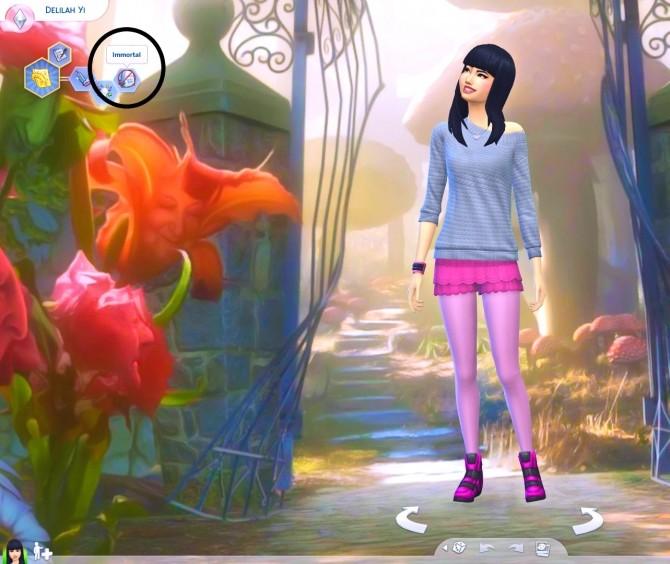Immortal Sims Trait