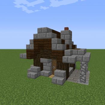 Minimalist Gothic House