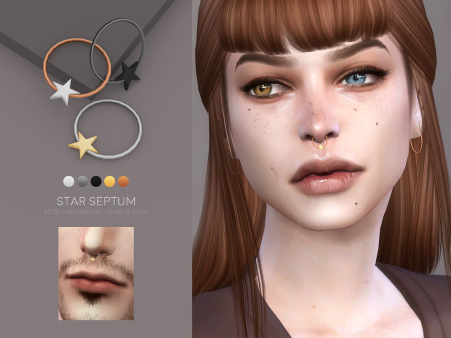 Sugar Owl's Star Septum