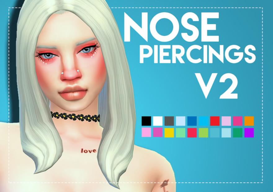 Unisex Nose Piercings V2