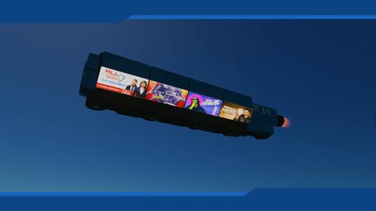 Ad Ship Cyberpunk 2077