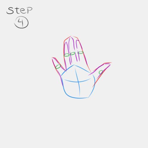 Anime Hand Palm View 4